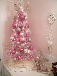 girlish ivory, silver and pink ornaments