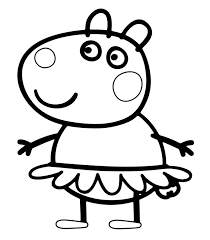 Small Picture The 25 best Peppa pig coloring pages ideas on Pinterest Peppa