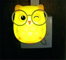 mini night kids owl lamp kids owl lamp cute cartoon owl led mini night light auto mini night