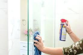 seemly how to clean the shower glass door water spots keep water stains off glass shower