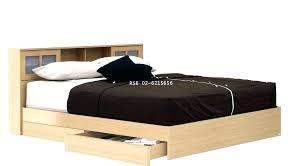 Queen Size Platform Bed Frame With Storage Drawers Queen Size Best