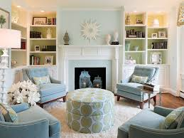light blue walls in living room photo 7