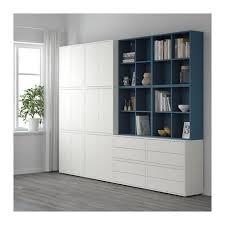 hallway furniture ikea. eket storage combination with feet whitedark blue ikea hallway furniture ikea