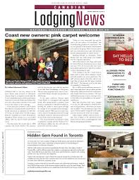 Canadian Lodging News October 2016 by Ishcom Publications - issuu