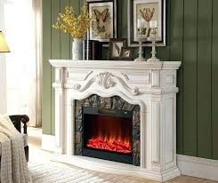 tall electric fireplace fabulous real flame white inch of narrow small