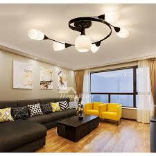 living ceiling lights off 55
