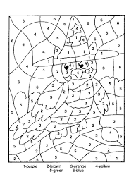 Small Picture Number Coloring Pages Coloring Book of Coloring Page