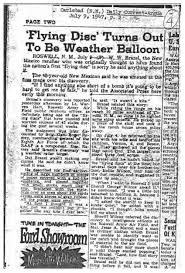 The Roswell Incident At 70 Facts Not Myths Skeptical