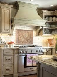 Decorative Kitchen Backsplash Elegancy Produced By Antique Backsplash In Kitchen Chatodining