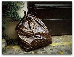 Louis Vuitton Garbage Bag - Interior Design