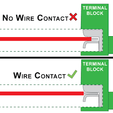 led troubleshooting wire and wiring issues loose wiring