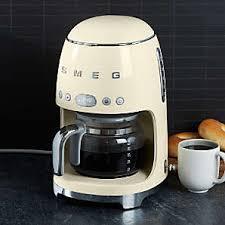 Smeg | drip coffee machine. Coffee Machines And Drip Coffee Maker Crate And Barrel