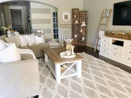 Country Living Rooms Simple Decoration