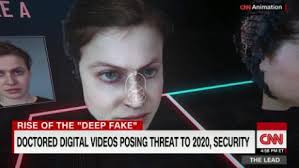 Elections Doctored To Cnn - Video Threat Videos 'deep Fake' Security Posing