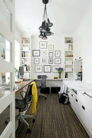 office space ideas. The Home Office Of Vancouver Developers Peter And Brenda Juric. Interior Design By Kelly Deck Design. Love Amount Light! Space Ideas