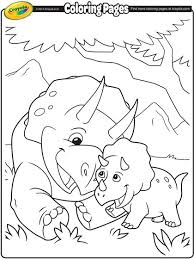 Small Picture Triceratops Coloring Page crayolacom