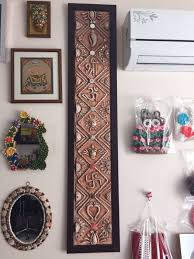indian craft ideas for home decor. add this piece of art to your home decor for good luck . intricately handcrafted wall indian craft ideas