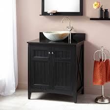 alvelo vessel sink vanity  black  bathroom vanities  bathroom