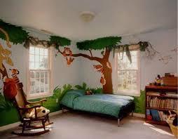 kids bedroom. Decoration Kids Room With Jungle Theme Bedroom