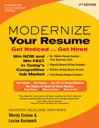 A Winning Resumes Modernize Your Resume Second Edition Get Noticed Get