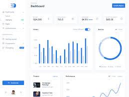 Bootstrap Light Blue Dashkit Admin Dashboard Template Dark Light