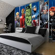 Marvel Bedroom Accessories Details About Disney Avengers Boys Bedroom Photo Wallpaper Wall