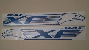 daf xf logo truck decal vinyl