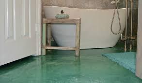 stained concrete floor basement. Exellent Stained Turquoise Concrete Stained Bathroom Floor And Basement