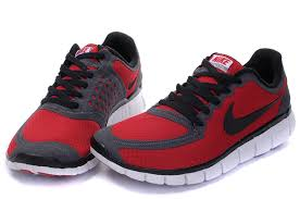 nike running shoes red and white. mens cheap nike free 5.0 v4 running shoes red black,nike run 5.0, and white e