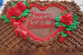 February Birthday Cakes Adifferentforestnet February Birthdays