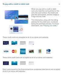 does old navy take debit cards knoji