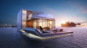 Floating Home Manufacturers This 18 Million Floating Seahorse House Features A Glass