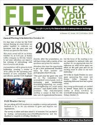 october newsletter ideas fyi newsletter venango area chamber of commerce