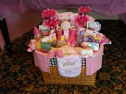 cute baby shower gift basket ideas