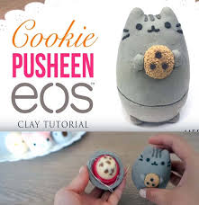 best diy eos projects diy pusheen cat cookie turn old eos containers into