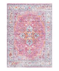 love this product pink orange medallion sylvia rug