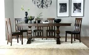 8 chair dinner table dark wood extending dining with chairs brown seat pad square and