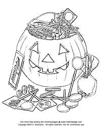 Small Picture Halloween Candy Bucket Free Coloring Pages for Kids Printable