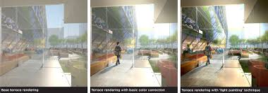Architecture Design Photoshop Painting Light In Photoshop Payette