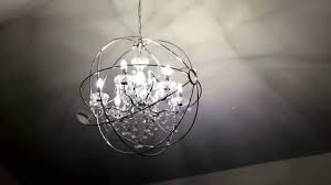warehouse of tiffany saturn s ring chandelier 32 chrome