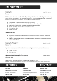 Resume Templates Template Words Sample Outlines Docs Example Pdfs