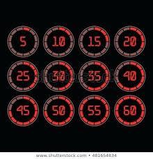 1 Minute Countdown Set Five Minute Timer Gorrasenbogota Co