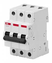<b>Автоматический выключатель ABB</b> BMS413, 10А, <b>трехполюсный</b> ...