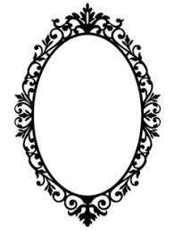 oval frame design. Ornate Oval Frame Wall Stickers / Decals In 2018   Tattoos Pinterest  Silhouette Design, Silhouettes And Shapes Oval Frame Design