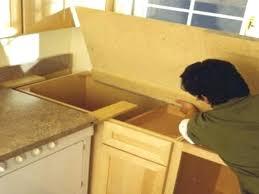 laminate countertops install how to install laminate installing laminate s how to install a laminate at