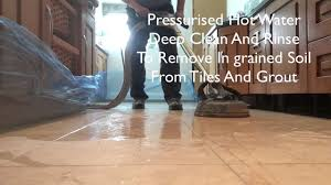 how to clean and seal honed travertine
