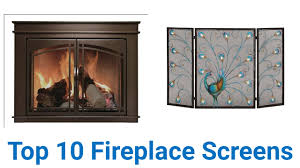 Unique fireplace screens Decorative Video Play Icon 10 Best Fireplace Screens Ezvid Wiki Top 10 Fireplace Screens Of 2017 Video Review