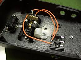 crybaby wah pedal with original electronics removed and re wired as an expression pedal