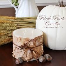 do you have a birch tree make birch bark candles, crafts, seasonal holiday  decor