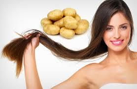 Resultado de imagem para moisturizing homemade potatoes for hair